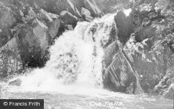 Devil's Bridge, The Falls c.1955