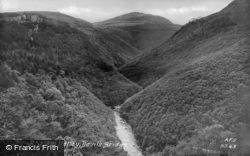 The Rheidol Valley c.1939, Devil's Bridge