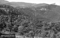 The Rheidol Valley c.1955, Devil's Bridge