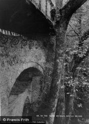 The Three Bridges c.1955, Devil's Bridge