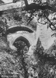 Three Bridges And Punch Bowl 1906, Devil's Bridge