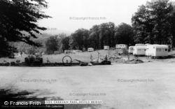 Woodlands Caravan Park c.1965, Devil's Bridge