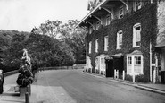 Devils Bridge, Hafod Arms Hotel c.1960