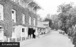 Devils Bridge, Hafod Arms Hotel c.1960