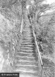 Devils Bridge, Jacob's Ladder c.1935