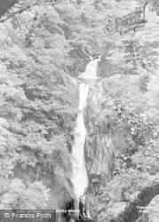 Devils Bridge, Mynach Falls 1925