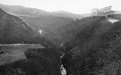 Devils Bridge, Rheidol Valley 1903