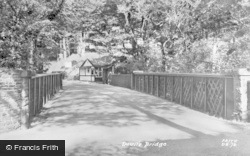 Devils Bridge, The Cafe c.1955