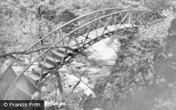 Devils Bridge, The Circular Bridge c.1935