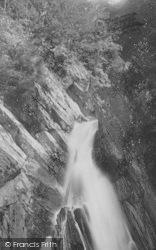 Devils Bridge, The Falls 1892