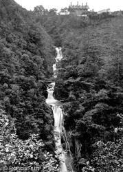 Devils Bridge, The Falls c.1880