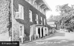 Devils Bridge, The Hafod Arms Hotel c.1960