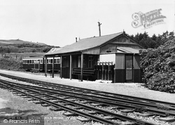Devils Bridge, The Station c.1955