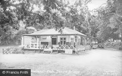 Devils Bridge, The Woodlands Cafe c.1935