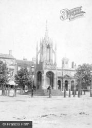 Devizes, Market Cross 1898