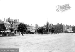 Devizes, Market Place 1898