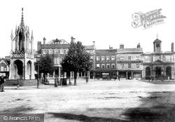 Devizes, Market Place 1899
