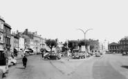 Devizes, Market Place c1960