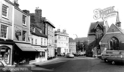 Devizes, Maryport Street c.1965