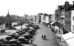 Devizes, The Market Place c.1950