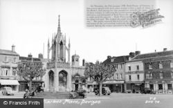 Devizes, The Market Place c.1955