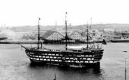 Devonport, H.M.S. Royal Adelaide 1890
