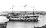 Devonport, HMS Impregnable 1904