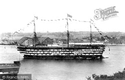 Devonport, HMS Impregnable 1904