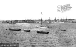 Devonport, Keyham Dock From Torpoint 1890
