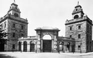 Devonport, Keyham Dock Gate 1890