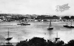 Devonport, Mount Wise From Cremyll 1890
