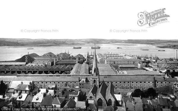 Photo of Devonport, The Dockyard 1890