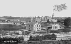 Devonport, The Royal Naval  Barracks 1898