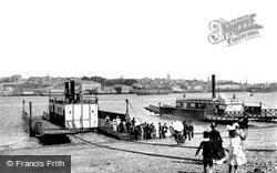 Devonport, Torpoint Ferry Bridge 1890