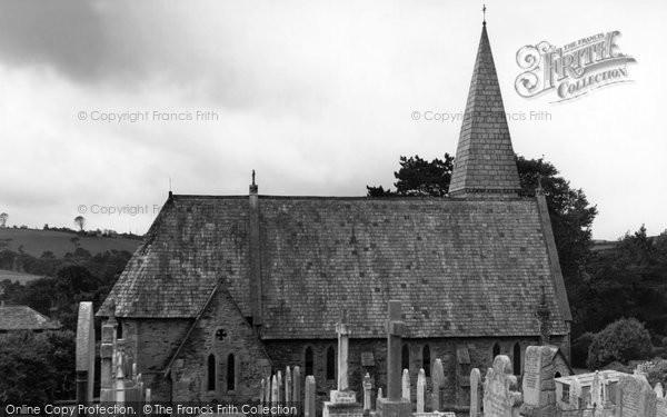 Photo of Devoran, St Petroc Church c1955