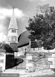 Devoran, St Petroc  Church c.1960