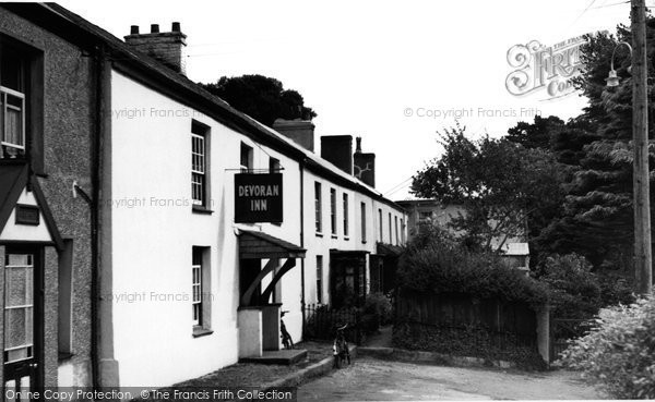 Photo of Devoran, The Devoran Inn c.1955