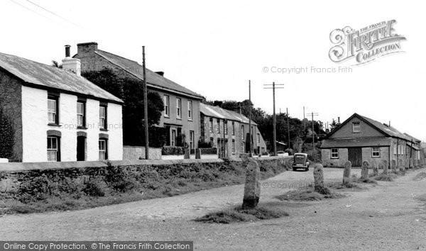 Photo of Devoran, The Village c.1955