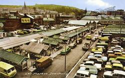 The Market c.1965, Dewsbury