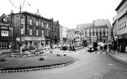 Dewsbury, Town Centre c1960