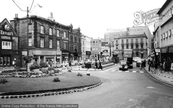 Photo of Dewsbury, Town Centre c1960