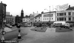 Town Centre Roundabout c.1965, Dewsbury