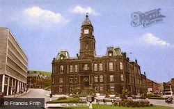 Town Hall c.1960, Dewsbury