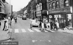Zebra Crossing In Northgate c.1965, Dewsbury