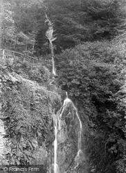 Dhoon Glen, Waterfall 1894, Dhoon