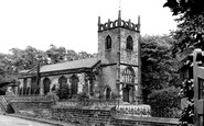 Didsbury, Parish Church c1955