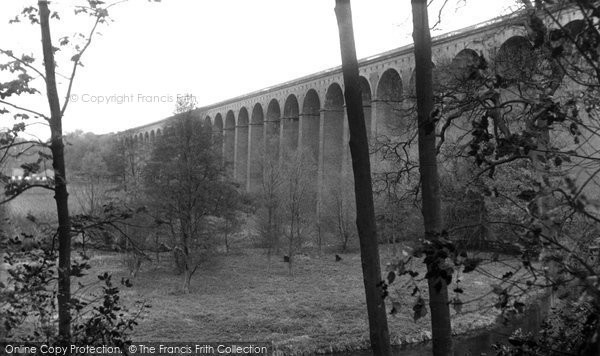 Digswell, the Viaduct c1960