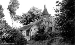 St Mary's Church, Old Dilton c.1955, Dilton Marsh