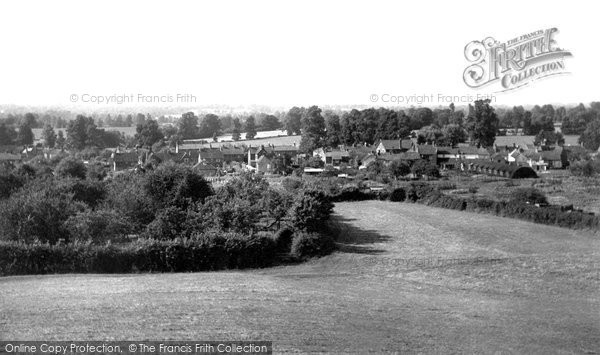 Photo of Dilton Marsh, View From White Croft c.1955