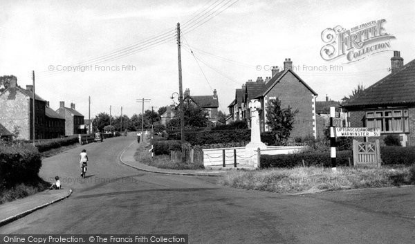Photo of Dilton Marsh, War Memorial And High Street c.1955